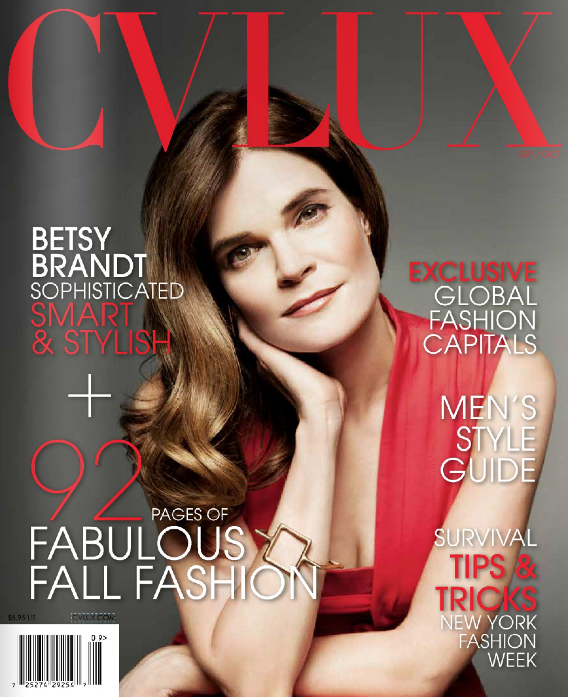 CV Luxury // September-October 2015 (Betsy Brandt Cover)