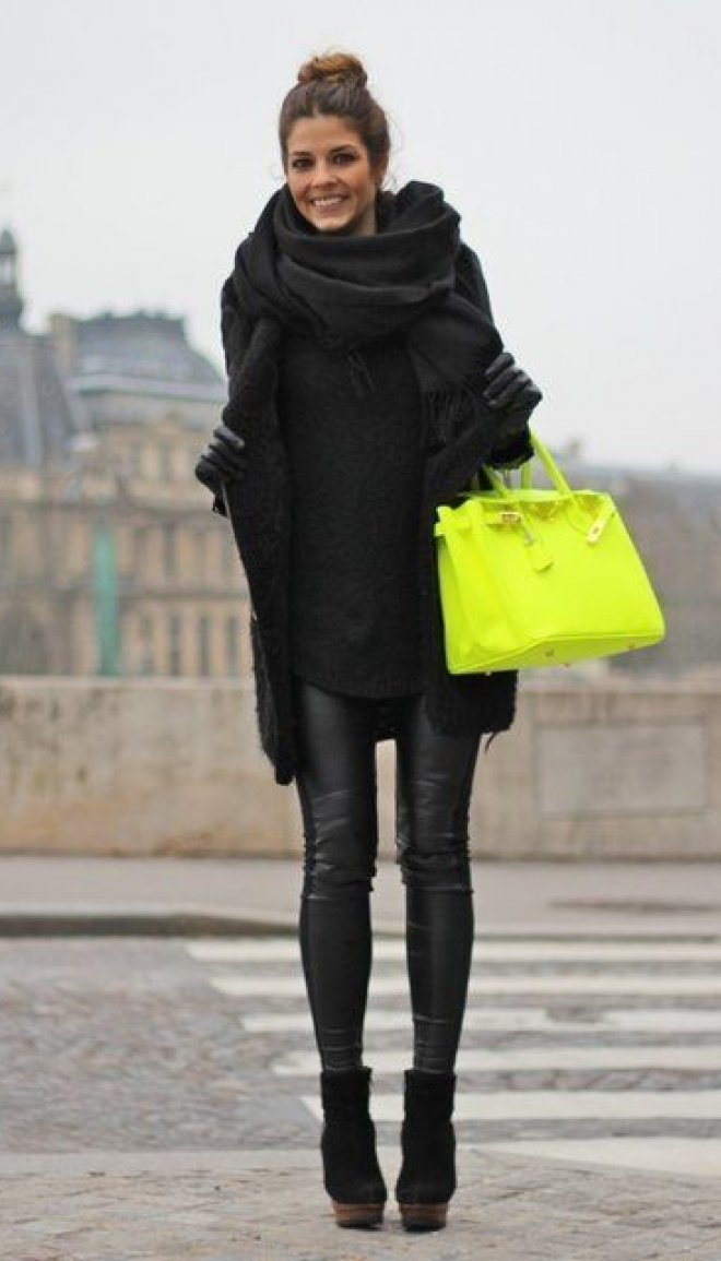 Fall style, black