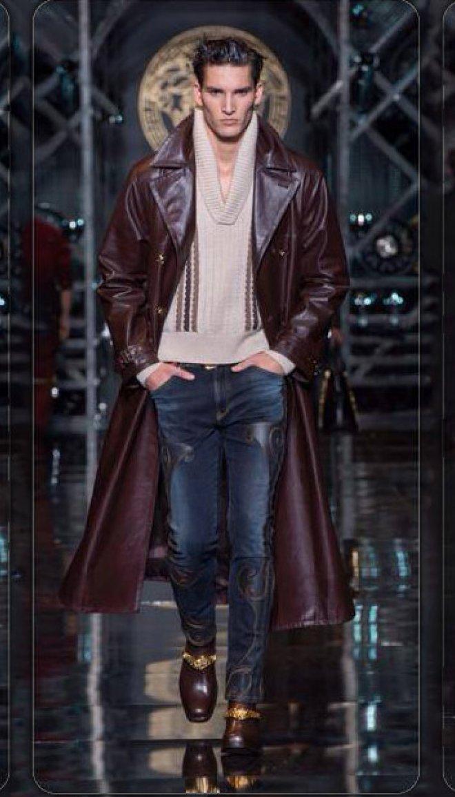 mens fashion, menswear, designer, versace, fall 2014