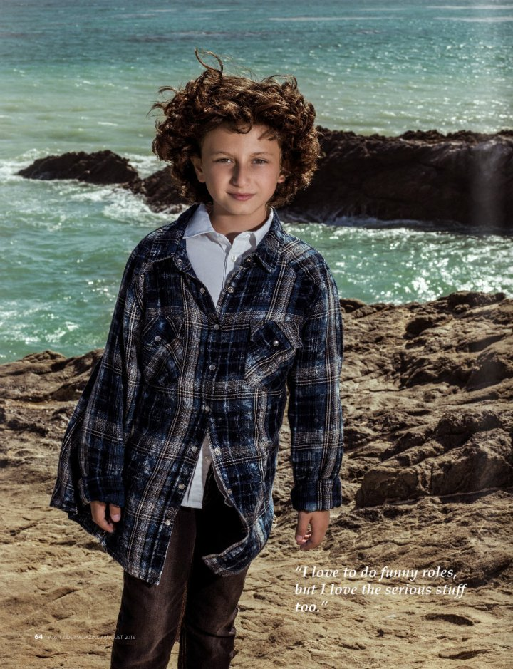 Photoshoot Stylist, Posh Kids Magazine, August 2016
