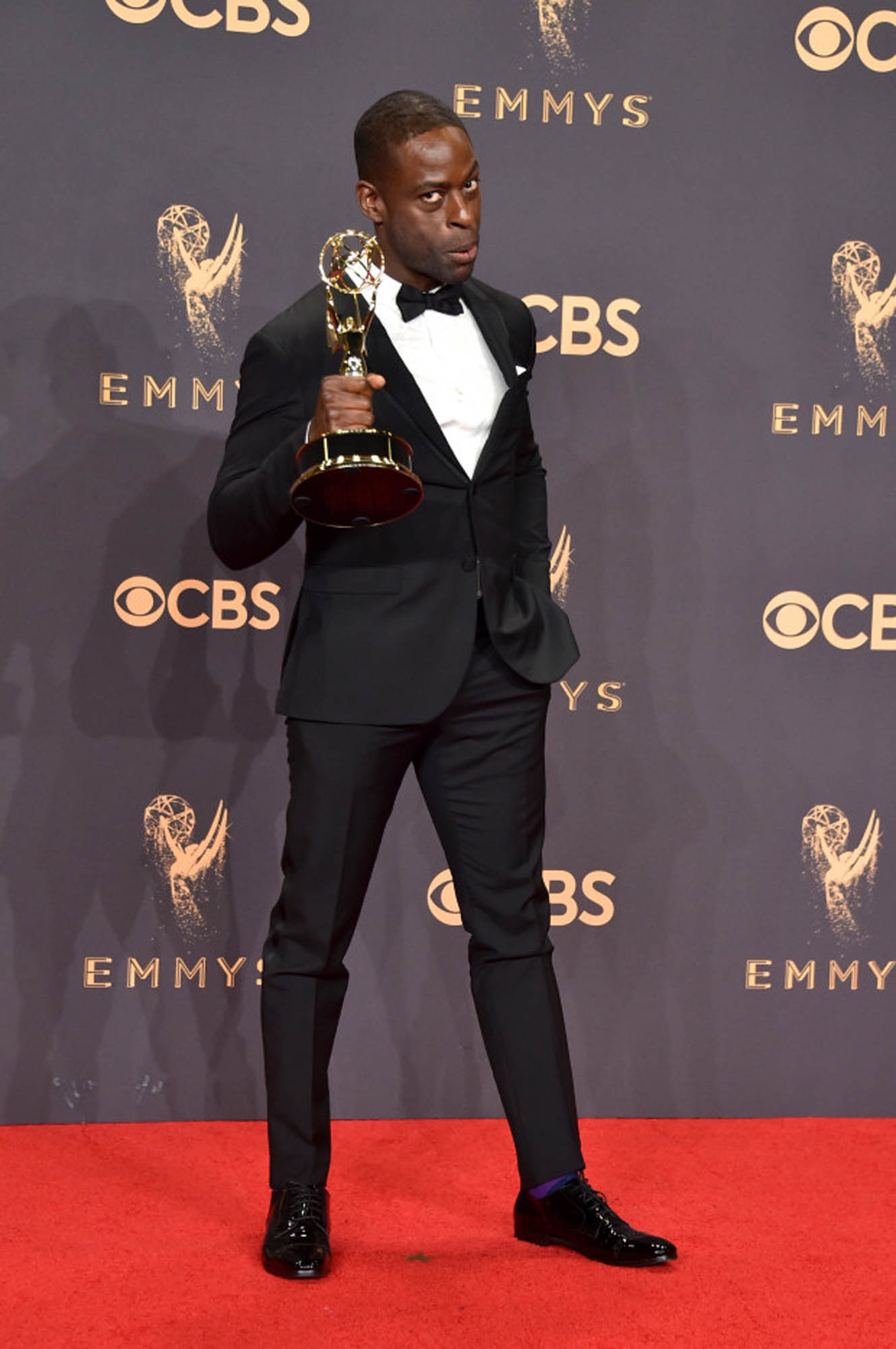Styling Sterling Brown for the Emmy's 2017 Red Carpet